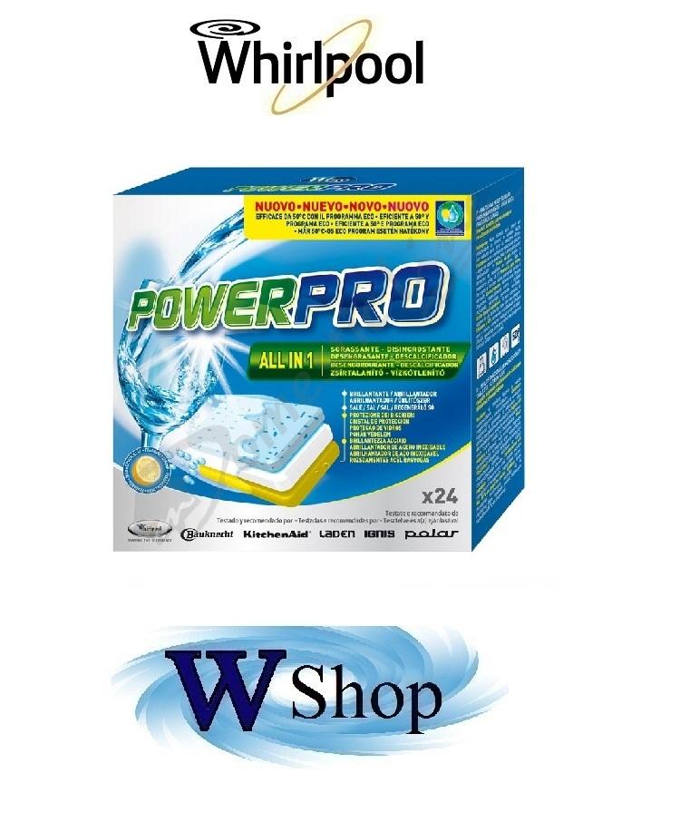 Detersivo professionale per lavastoviglie Wpro Universale cod 484000000266 € 5,00