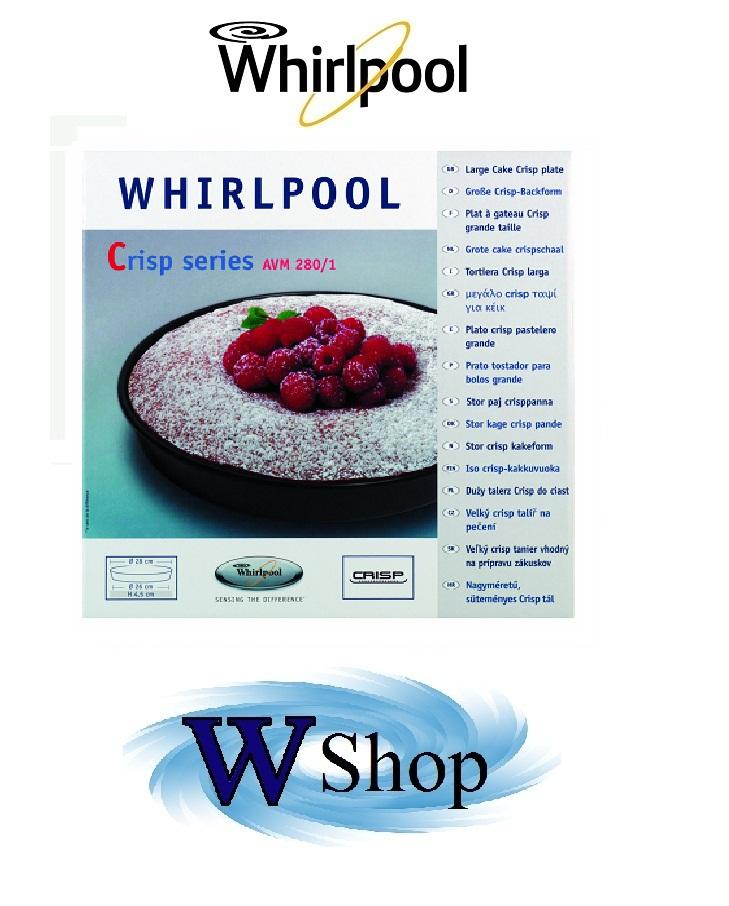 Tortiera per forni a microonde Whirlpool mod. AVM280 cod. 480131000082 € 29,00