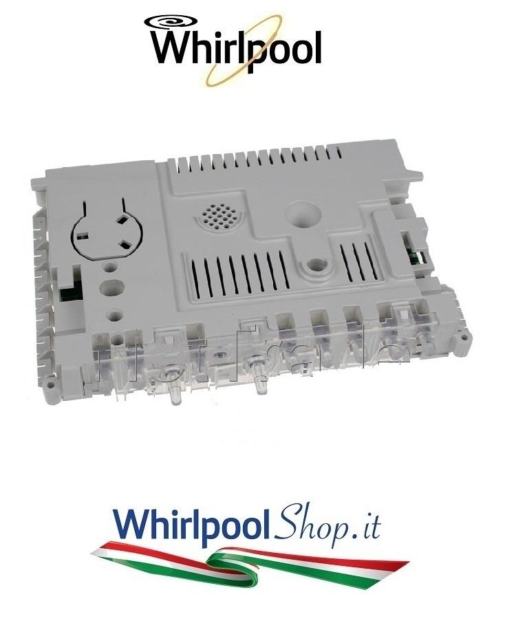 Scheda elettronica Centralina per lavastoviglie Whirlpool codice ...