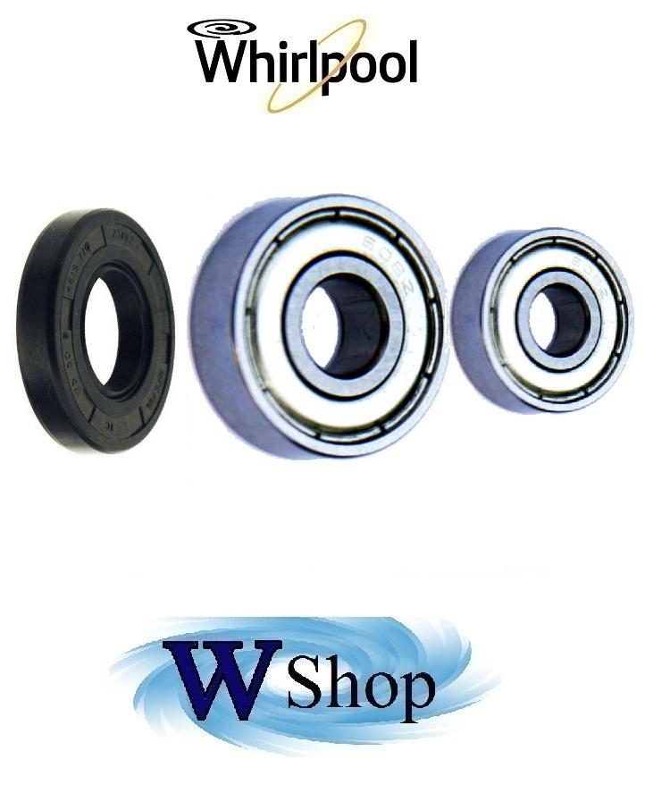 Cuscinetti piu premistop per lavatrice Whirlpool Ignis Bauknecht codice 483548 € 35,00