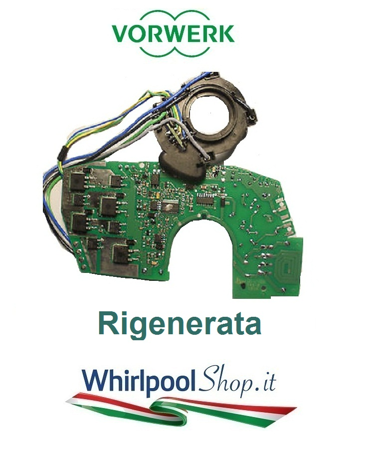 Scheda elettronica rigenerata kobold vorwerk folletto modello vk140 e vk150 codice 32089 44 00 - Scheda motore folletto vk 140 ...
