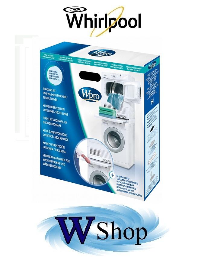 kit sovrapposizione lavatrice / asciugatrice Universale cod ...