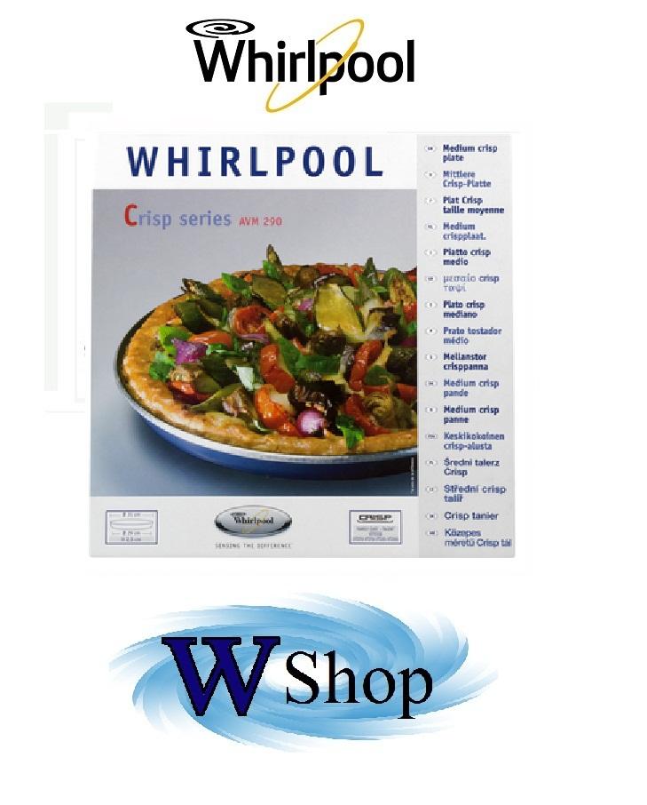 Piatto crisp per forni a microonde Whirlpool mod. AVM290 cod. 480131000084 € 29,00