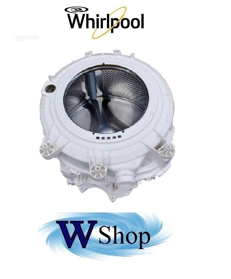 Vasca completa di cestello per lavatrice whirlpool cod for Cestello lavatrice