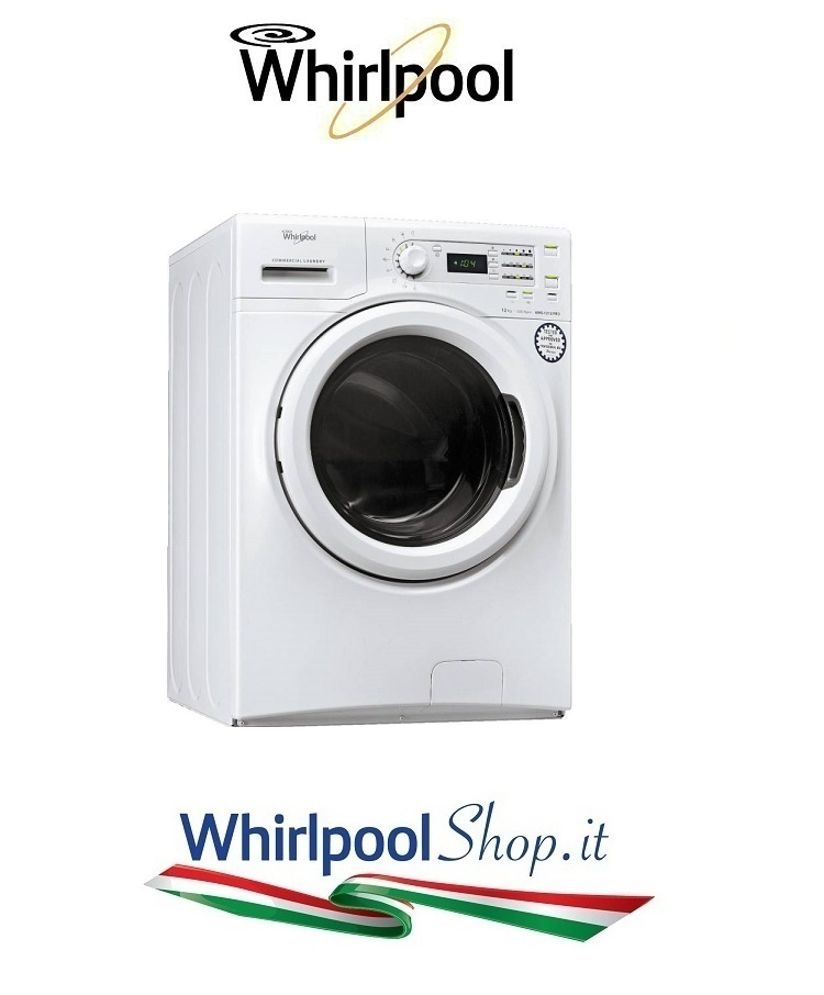 Lavatrice whirlpool semiprofessionale maxy carico 12kg for Peso lavatrice