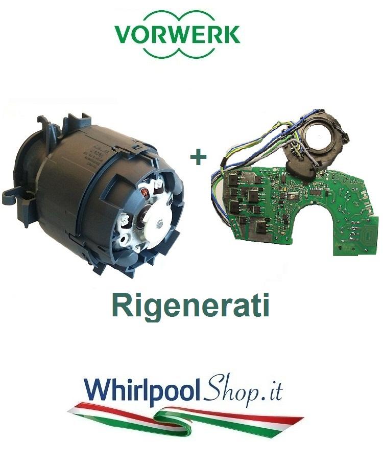 Motore pi scheda rigenerati per vorwerk folletto vk140 e - Motore folletto vk 140 ...