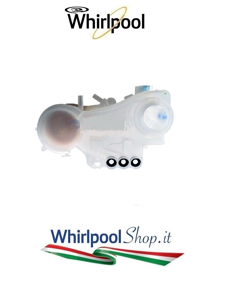 CONTENITORE SALE LAVASTOVIGLIE Whirlpool Bauknecht codice 480140102402